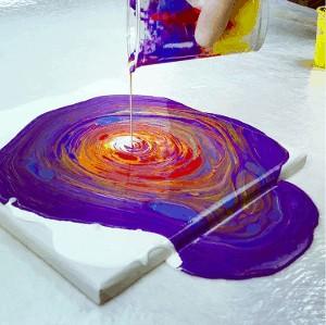 Fluid Painting Anleitung