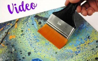 Finish deiner Acrylic Pouring Bilder
