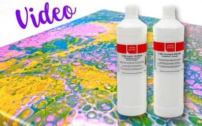 Pouring Medium Alternative: Vinylkleber von Gerstaecker im Test