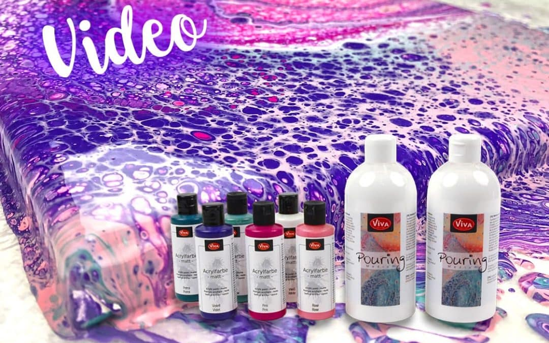 Produkttest: Viva Decor Acrylfarben und Viva Decor Pouring Medium