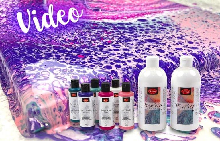 Produkttest: Viva Decor Acrylfarben und Viva Decor Pouring Medium