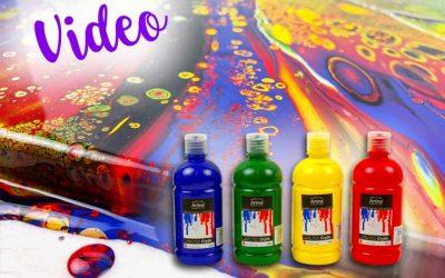 Produkttest: Artina Crylic Acrylfarben und Artina Akademie Leinwände