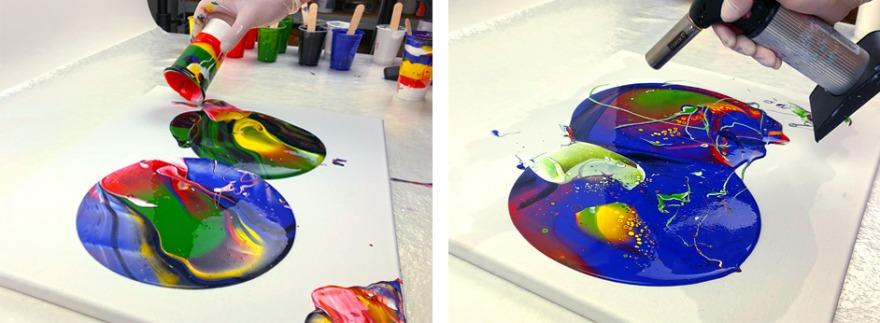 viva decor produkttest fluid painting