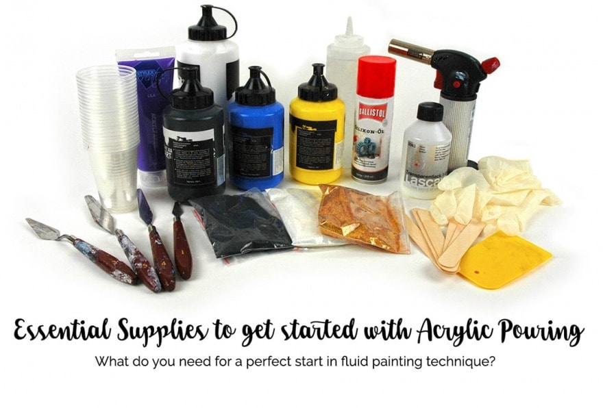 Acrylic Pouring Supplies