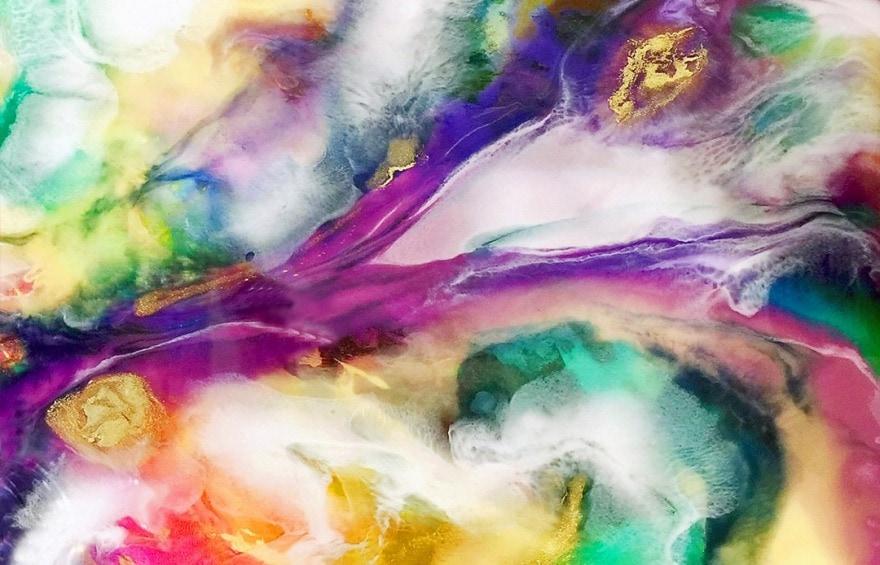 Resin Epoxy Art Basics For Your First Steps In Resin Art
