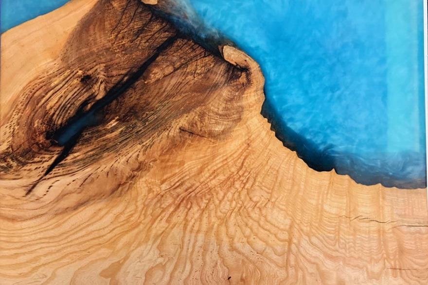 epoxy wood casting