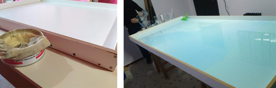 epoxy river table selber bauen