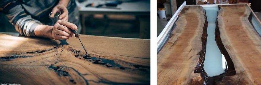 epoxy giethars tafelblad