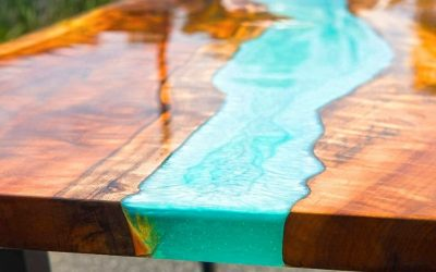 Maak je eigen Epoxy Tafel / River table van hout [Instructies]