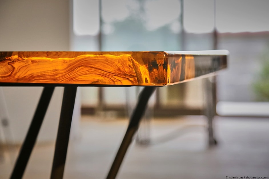resine epoxy transparente