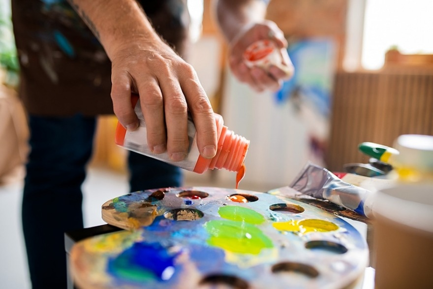 couleur teinte peinture