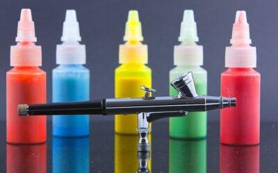 Peinture Aérographe – Colorants appropriés pour l'aérographie
