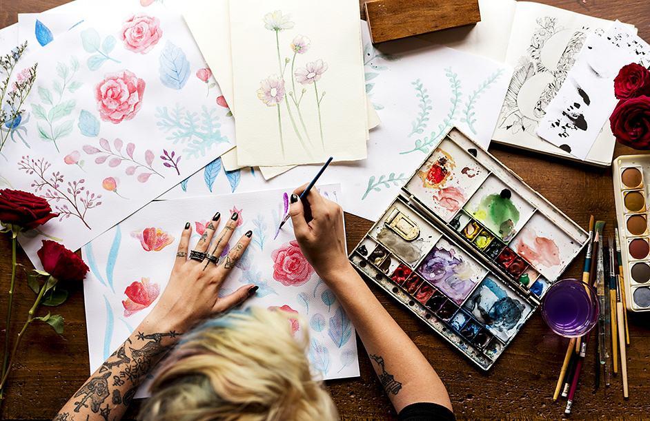 Dipingere Acquerello – Grande guida più Istruzioni per tecnica acquerello