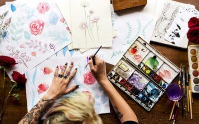 Aquarellmalerei – Grosser Ratgeber plus Anleitung