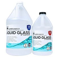 FGCI Liquid Glass, Deep Pour Crystal Clear Epoxy