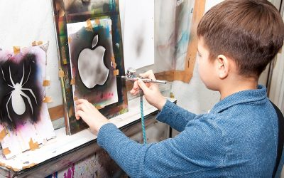 Best Airbrush Kit for Kids – Safe Kids Airbrushing