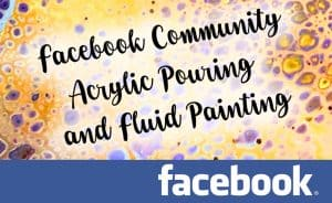 facebook community fluid painting