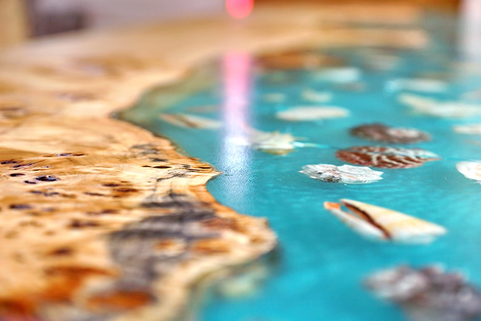 how to fix uneven epoxy resin