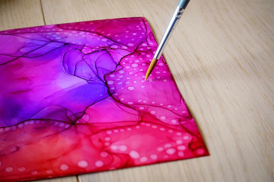 marabu alcohol ink effektfarben