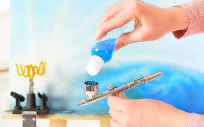 Thinning Acrylic Paint for Airbrush – Recipes and Tutorial