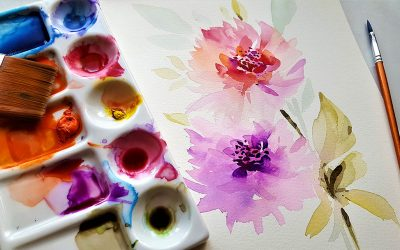 Watercolor Flowers – Guide how to paint Watercolor Flowers
