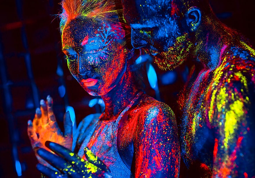 washable glow in the dark paint