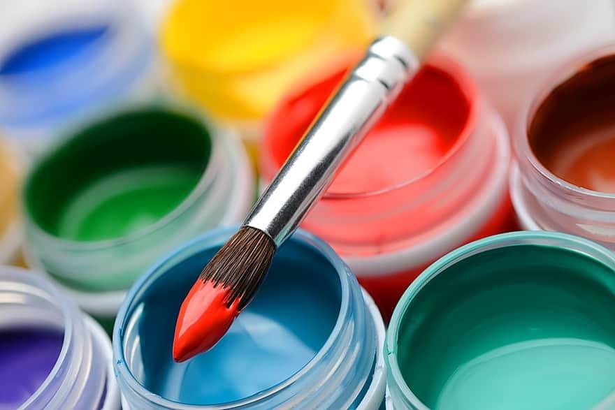 basic acrylic paints