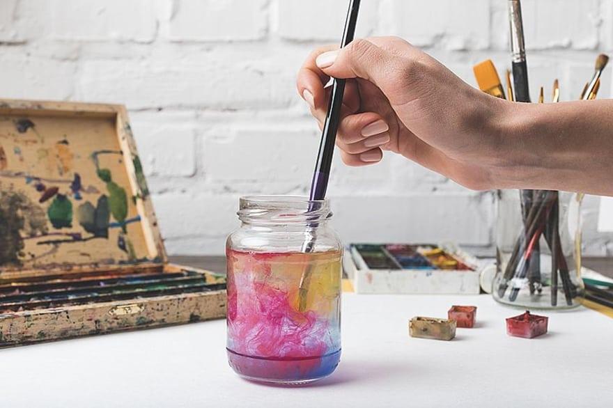 farbe für glas