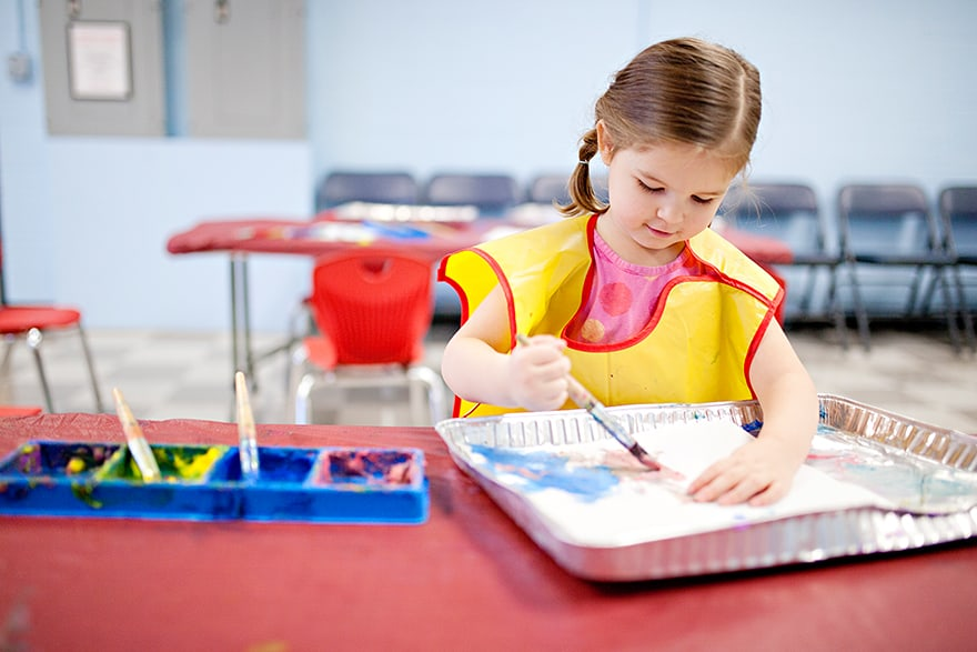 is acrylic paint safe for kids