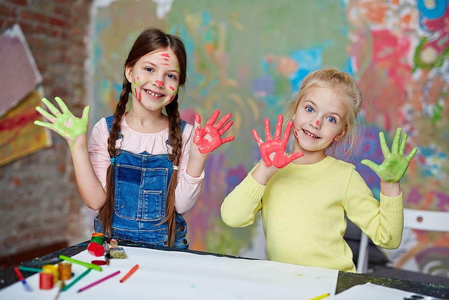 safe acrylic paint for kids