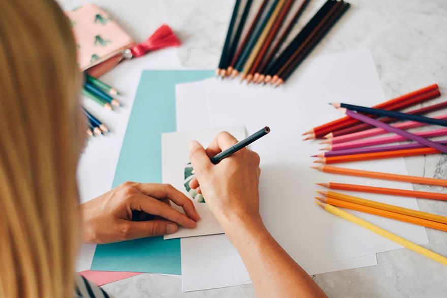 watercolor pencils drawing