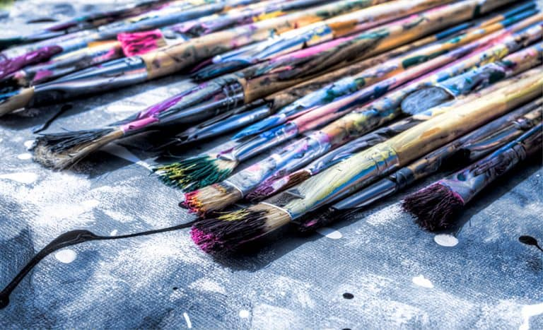 How To Clean Acrylic Paint Brushes – Best Acrylic Brush Cleaner