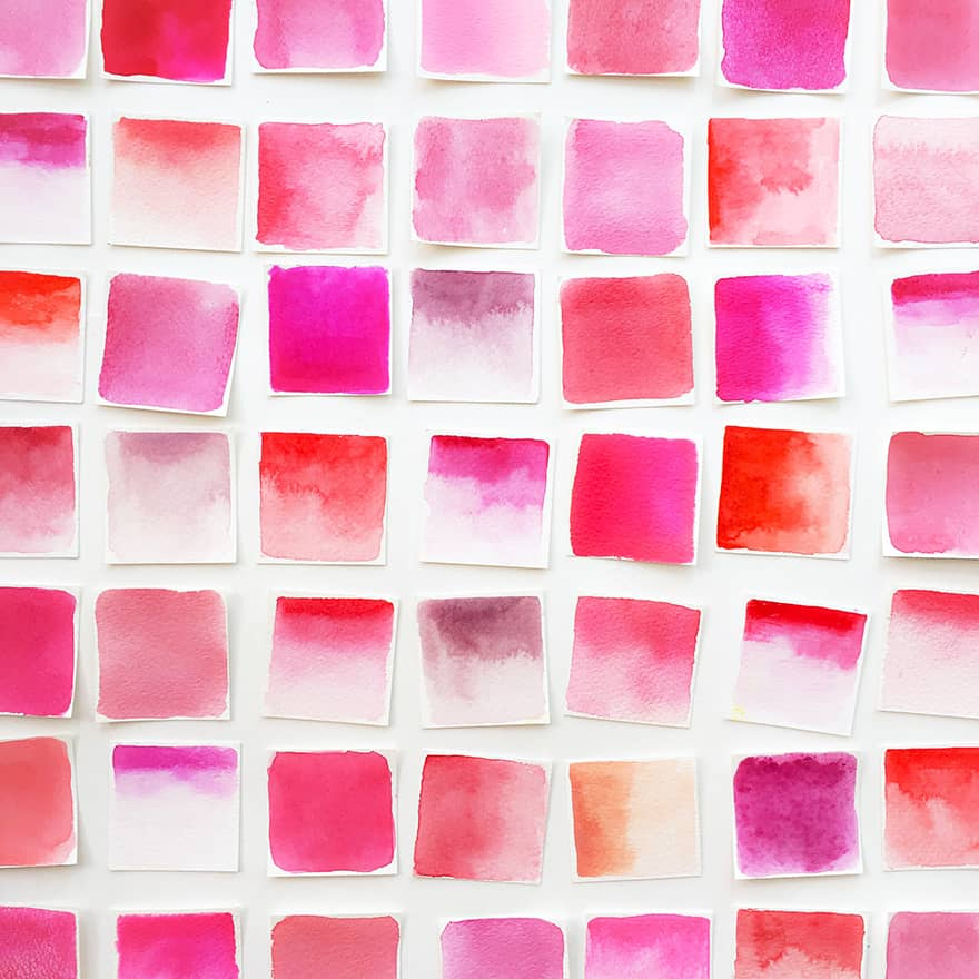 how many shades of pink are there