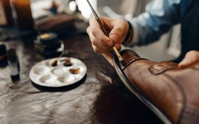 painting leather