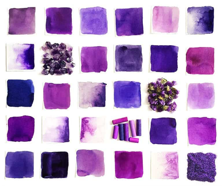 What Colors Make Purple? Creating Different Shades of Purple