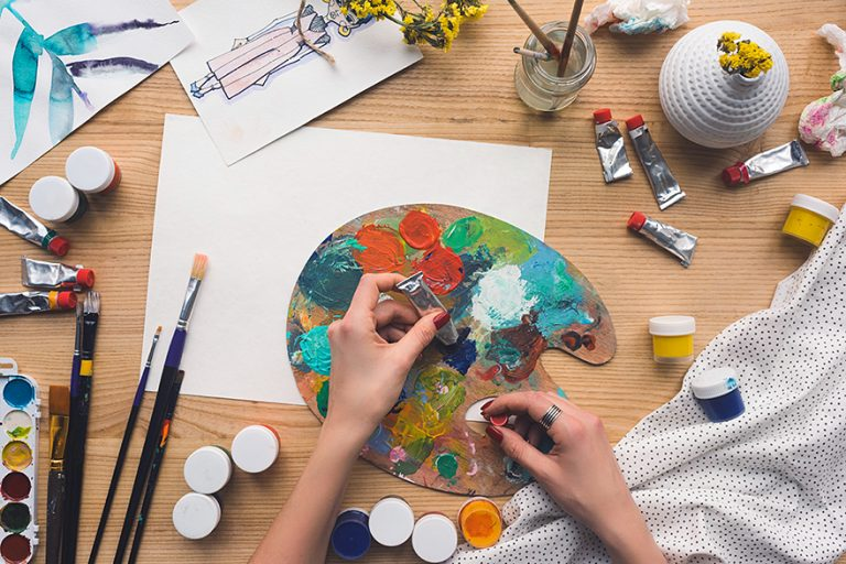 Oil vs Acrylic Paint – The Difference between Acrylic and Oil Paint