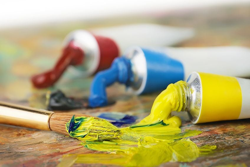 how to make yellow paint