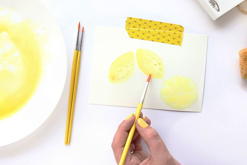 how to make yellow