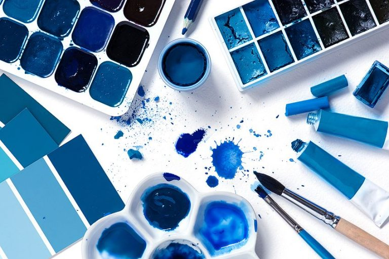 What Colors Make Blue – Learn How to Mix Blue Color Tones