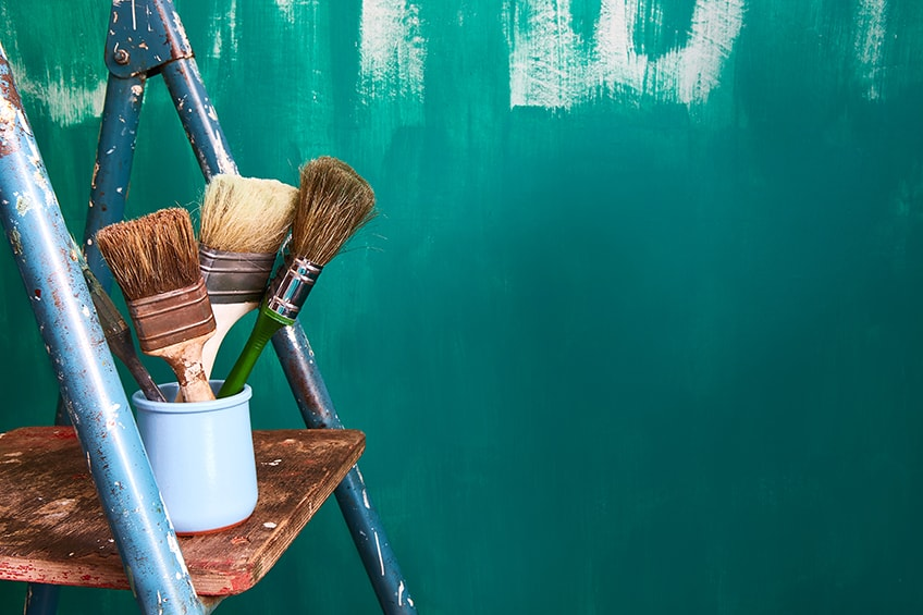 how to make teal paint