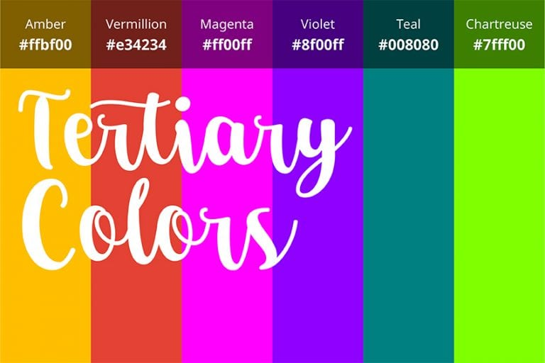 What are Tertiary Colors? – Tertiary Colors Definition