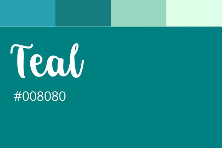 How to Make Teal – Lean to Create the Shades of Teal