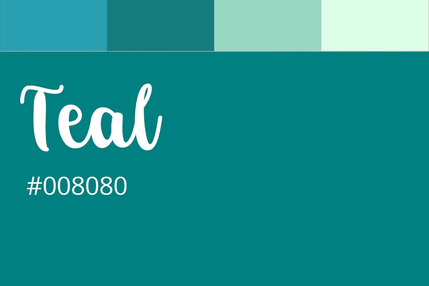 how to make teal