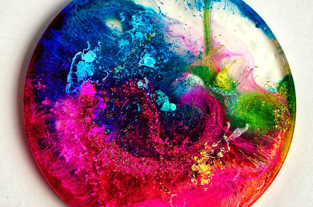 resin crafting alcohol ink
